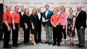 Lucas Oil wins AutoZone Extra Miler Award Photo