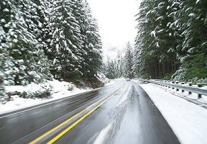 Winter Holiday Road Trip